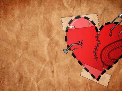blessing of a broken heart