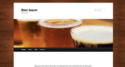 Beer Ipsum