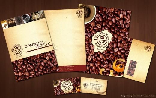 Coffee Bean Corporate Design
