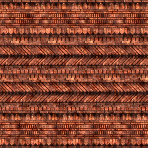 Complex Brick Seamless Texture