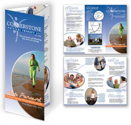 Cornerstone Tri-fold Brochure Design