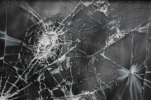 Cracked Glass Texture III