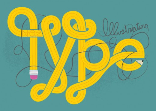 Create Illustrated Type from Sketch to Vector