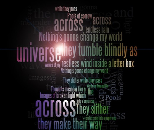 Create a Typographic Poster Using Photoshop and Wordle