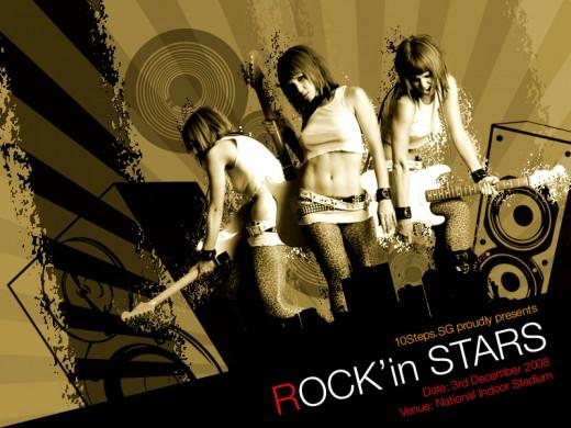 Creating a Grunge Rock Poster