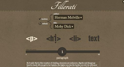 Fillerati (Classic Literature)