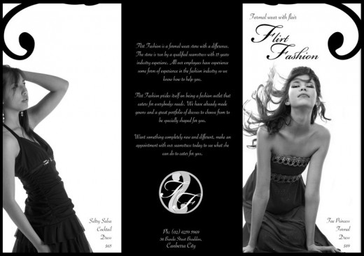 Flirt Fashion Brochure
