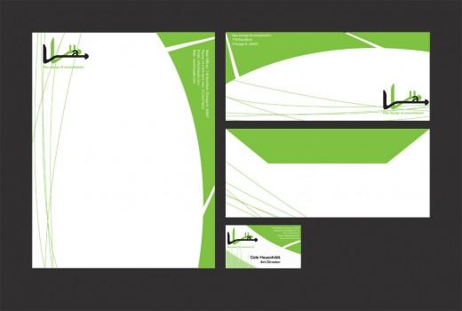 Letterhead, Envelope, Card
