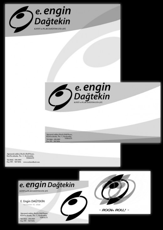 Letterhead and Card Design 2