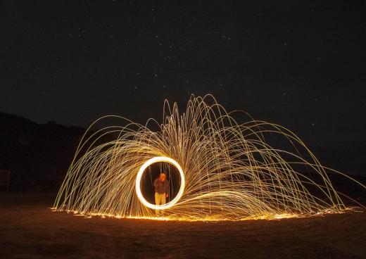 Low Light Magic- Howard Lgnatius in the Circle