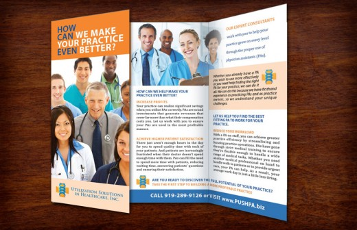 Medical Consulting Tri-Fold Brochure
