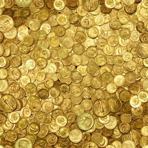 Seamless - Gold Coins