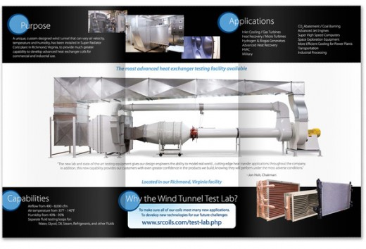 Test Lab Brochure, Super Radiator Coils