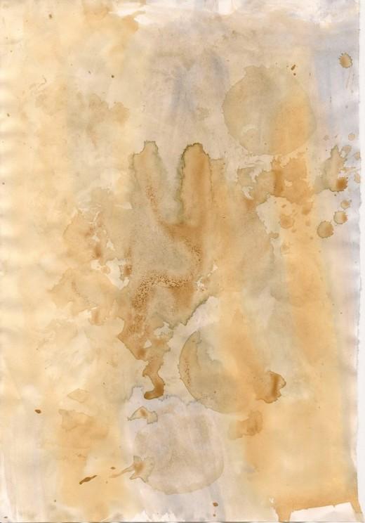 Texture Tea Stain VI