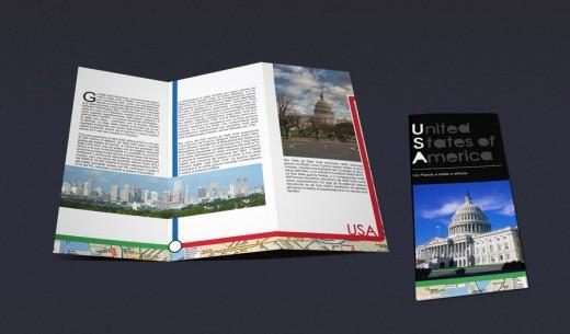 U.S.A. Tri-fold Brochure