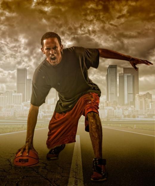 Create a Studio Sports Portrait