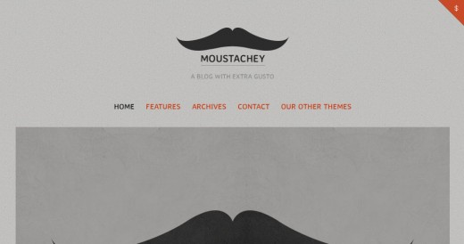 Moustachey A Blog Theme with Extra Gusto