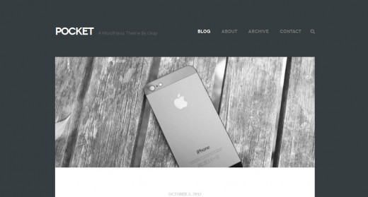 Pocket WordPress Theme