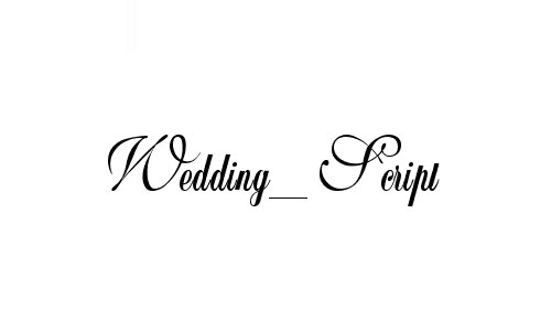 Wedding_Script Bail Font