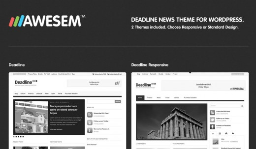 Deadline - Responsive Premium WordPress News Magazine Theme