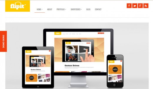 Flipit Responsive, Multi Purpose Theme