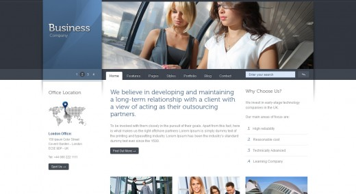 Celta Business - Modern Corporate WordPress Theme