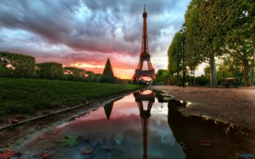 Eiffel Tower Reflections