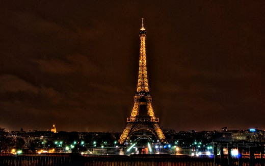 Paris 2560 Eiffel Tower HDR