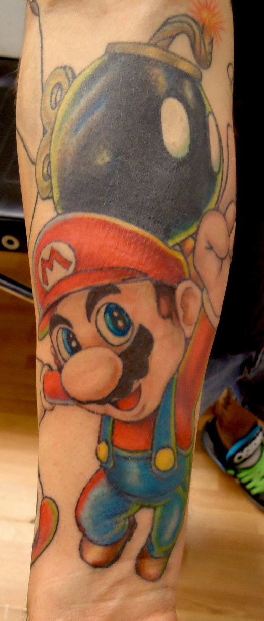 Tattoo Super Mario 2 by Alan B