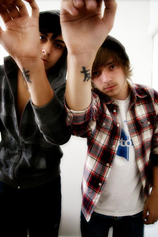 Dan and Me - Friendship Tattoos