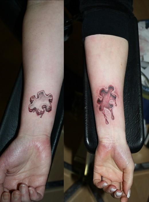 Tattoo Puzzle 4 Friendship