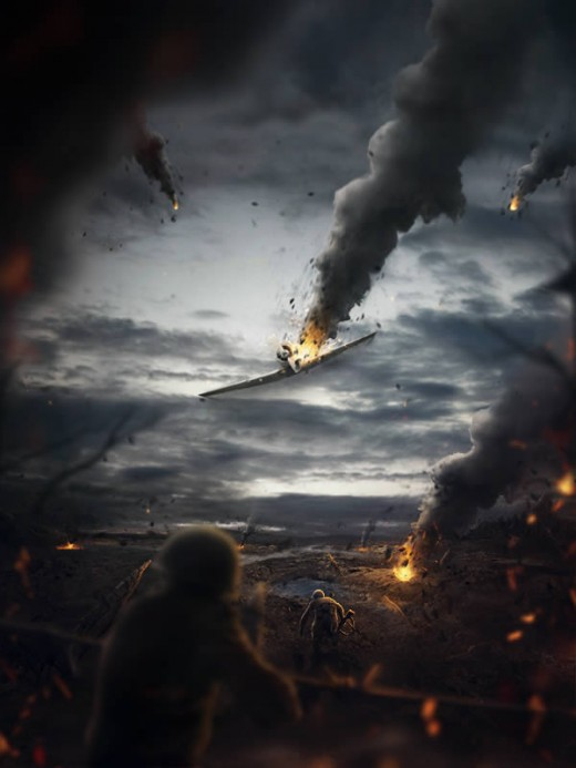 Create a Battlefield Scene Using Stock Photography in Photoshop