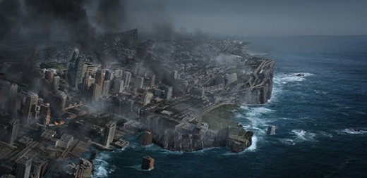 Create an Earth Shattering Disaster Scene in Photoshop
