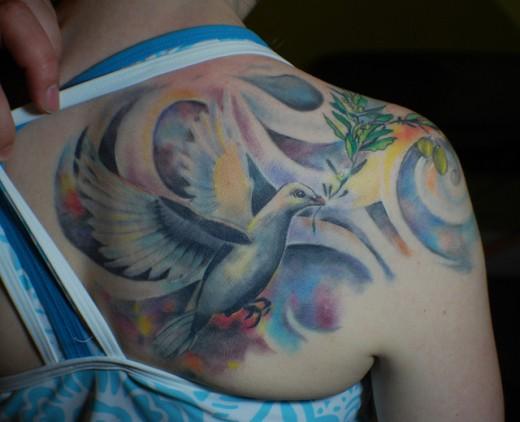 Healed Dove