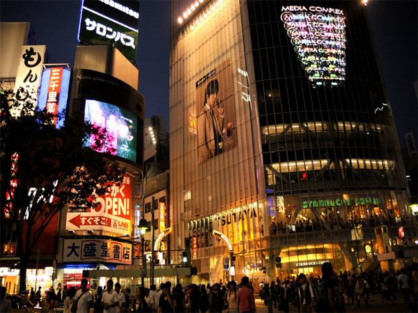 shibuya-at-night
