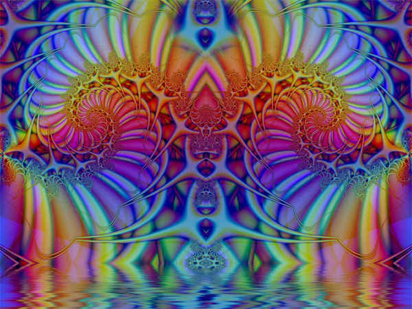 trippy-reflection - Trippy Wallpapers